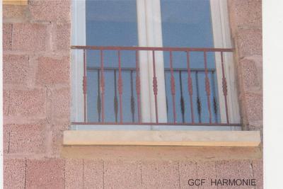 Grille De Défense Fenêtre Barre Dappuis Serrurerie Potasiak