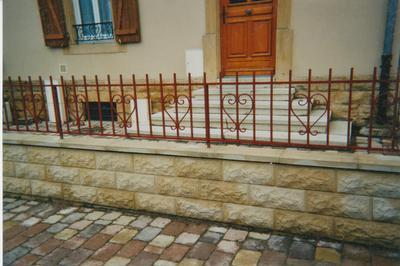 clôture forgé
